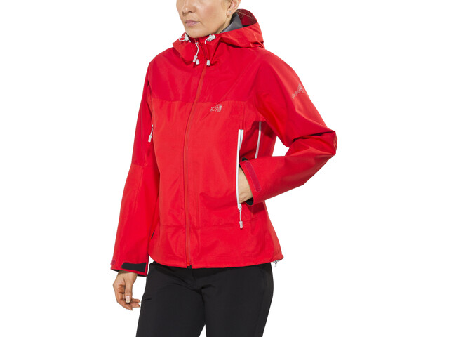 Millet LD Jungfrau GTX Chaqueta Mujer, rouge/silver